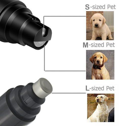 dog nail grinder show