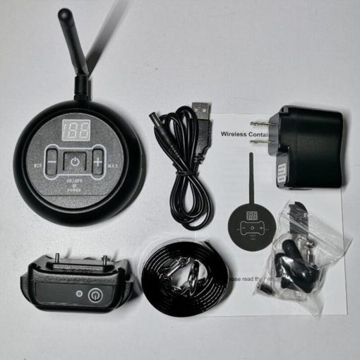 Wireless fence collar training device Kit
