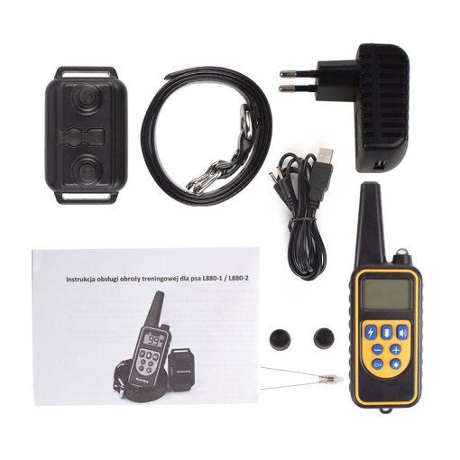 Waterproof 800m electric dog bark training collar Kit