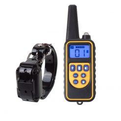 Waterproof 800m electric dog bark training collar