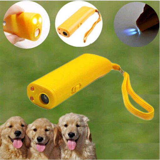 Stop dog barking ultrasonic device function show