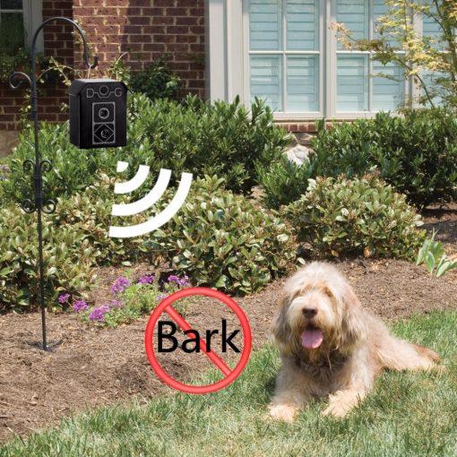 Waterproof outdoor anti barking device outside show