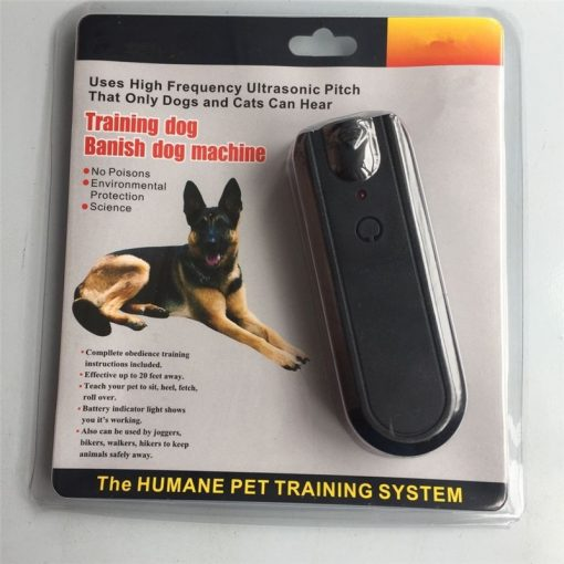 Ultrasonic Dog Repellers Anti barking device package front