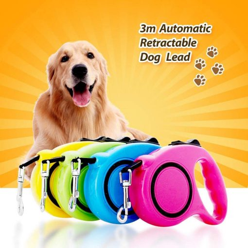 Automatic Retractable dog pulling on leash