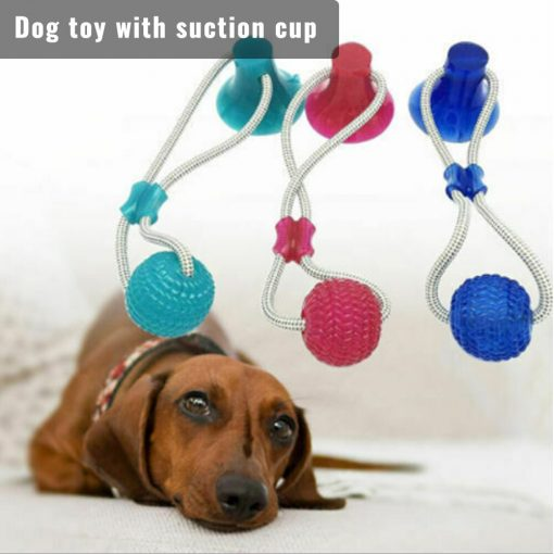 Tug of war dog toy Funny Pet Dog Tug Toys puppy teething toys color show 2