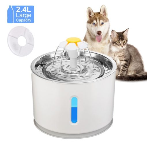 2.4 Litre Cat water fountain work show