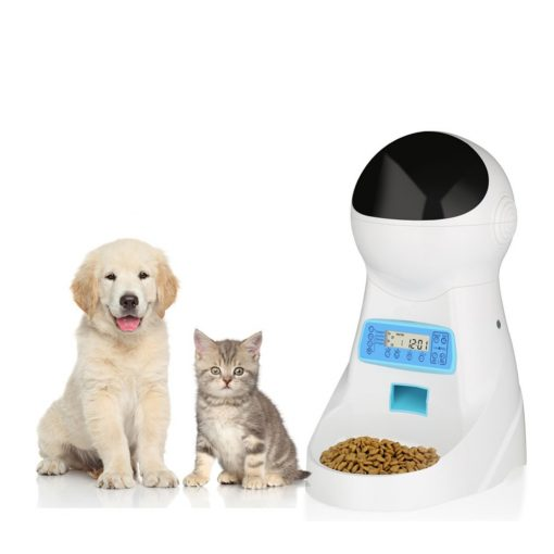 Automatic Cat feeder and puppy dog feeder