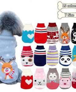 dog sweaters detail