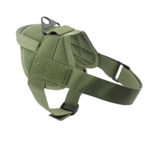 Military Training Service Dog Vest green color
