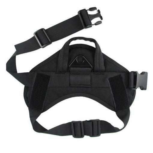 Service Dog Vest Black color
