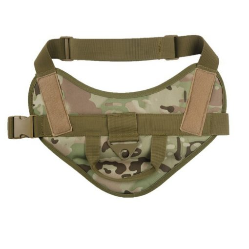 Military Training Service Dog Vest camouflage color