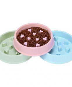 slow feeder dog bowl detail