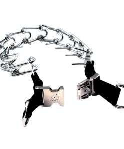 dog prong collar detail open