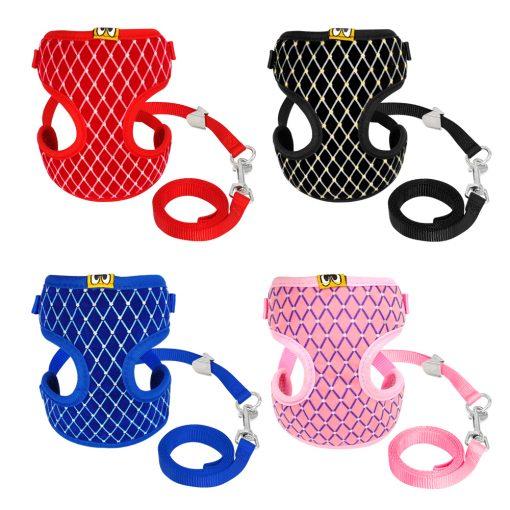 Mesh Cat Harness 4 color