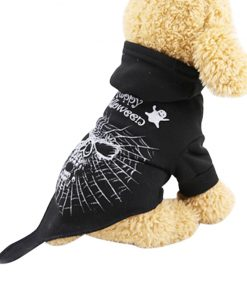 Pet Dog Clothes Halloween Funny Dog spider costume on dog
