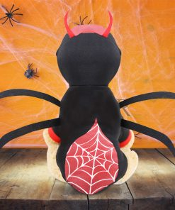 Pet Dog Clothes Halloween Funny Dog spider costume back show