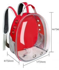 dog carrier backpack size