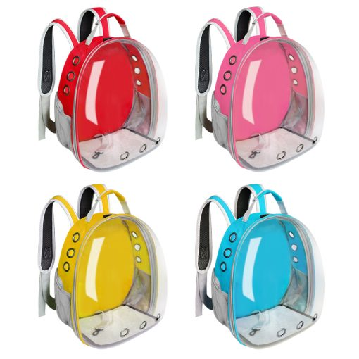 Cat and dog carrier backpack different color