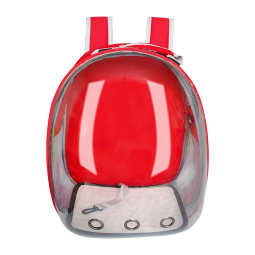 dog carrier backpack red color
