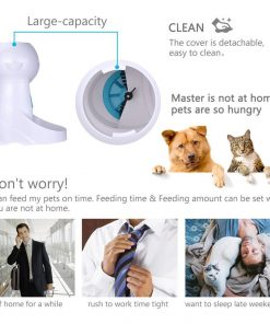 Automatic Cat feeder detail guider