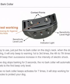 Dog Bark Collar guider