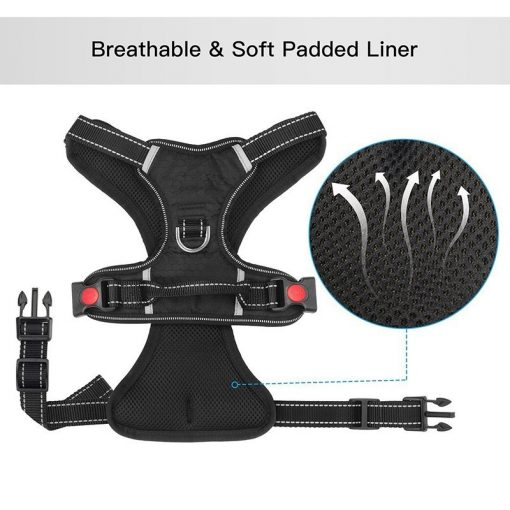 No pull dog harness soft material