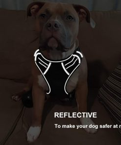No pull dog harness reflective