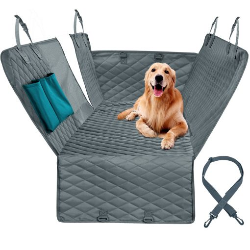 Dog car seat covers with safety belt Kit with dog show