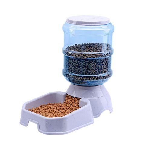 Automatic dog feeder food