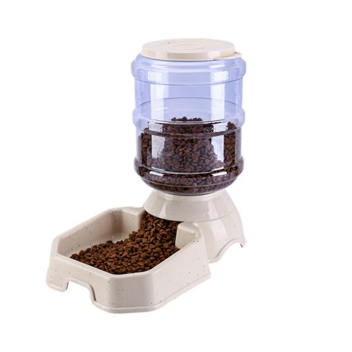 Automatic dog feeder for food