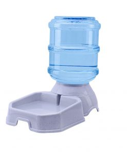 Automatic dog feeder for water