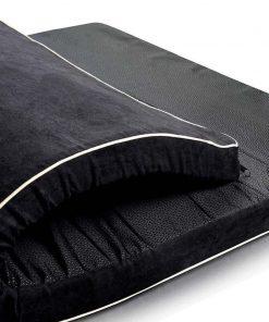 Memory foam dog bed detail