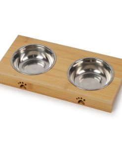 Elevated dog bowls stainless steel