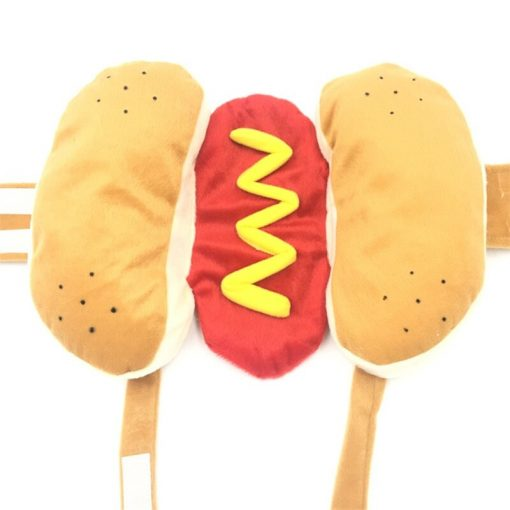 Hot dog costume show
