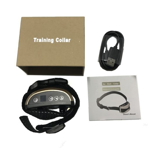 anti bark collar with package