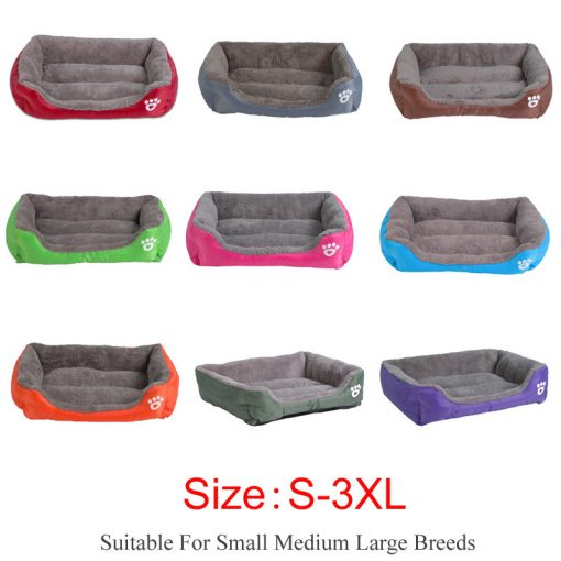Waterproof dog bed puppy beds all color show