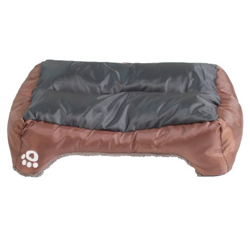 Waterproof dog bed puppy beds brown color