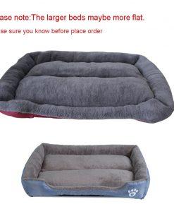 waterproof dog bed detail