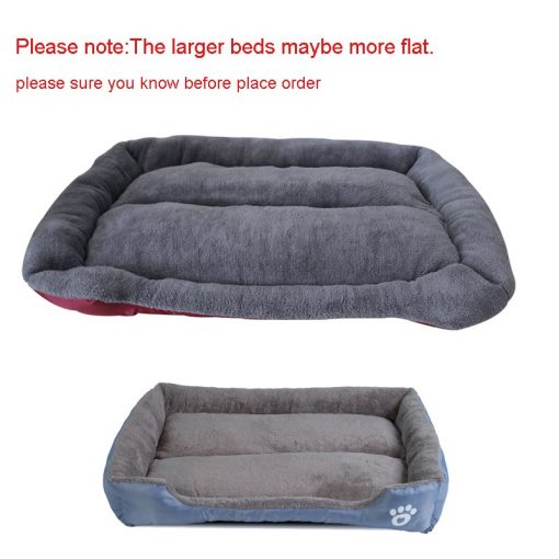Waterproof dog bed puppy beds notice show